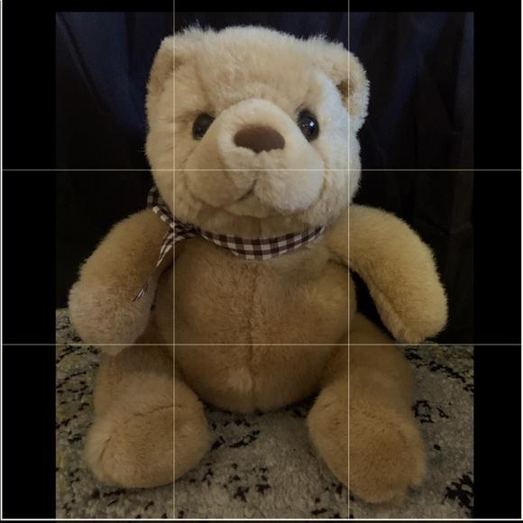 Russ Bearie Super Rare Teddy Bear -Marshmallow